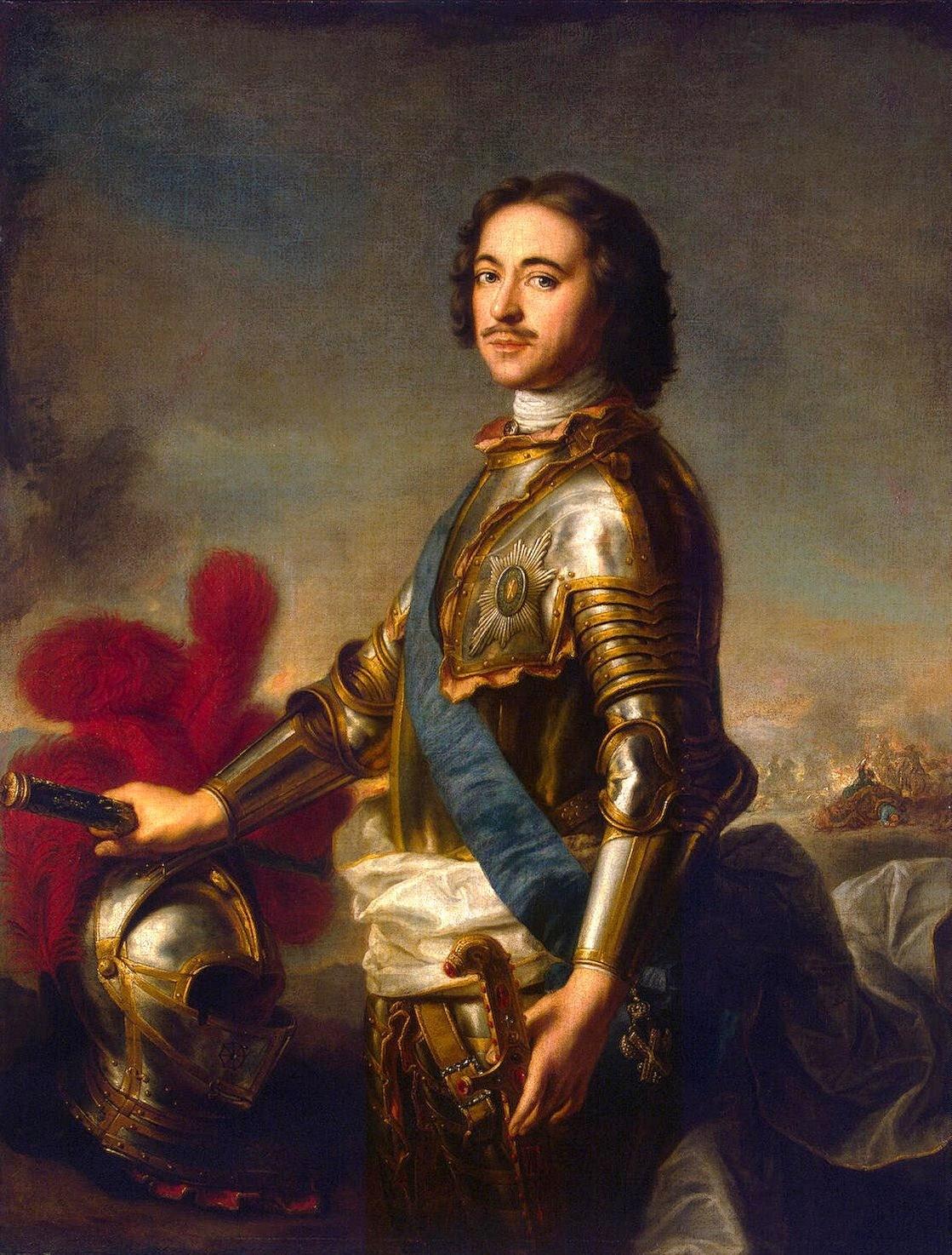 Inconnu_d'après_J.-M._Nattier,_Portrait_de_Pierre_Ier_(musée_de_l'Ermitage)